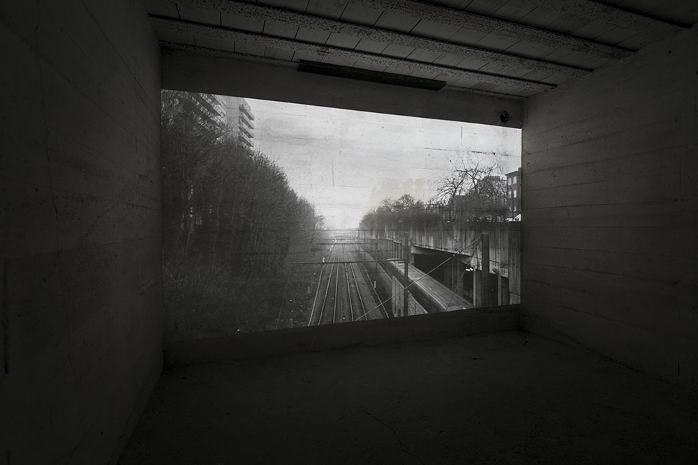 Jan Locus, The Distance Between Us,  Installation view, Unsettled, Kaap, Ostend